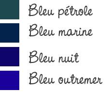 4 nuances de bleu pour commencer la saison dettach e. Black Bedroom Furniture Sets. Home Design Ideas