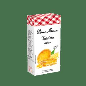 Tartelette citron Bonne Maman !