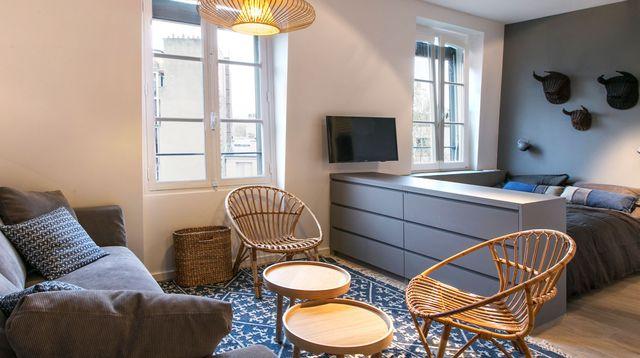 l 39 aide comment am nager un petit appartement. Black Bedroom Furniture Sets. Home Design Ideas