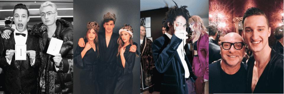 «Les nouveaux princes» : 51 influenceurs défilent pour Dolce & Gabbana !