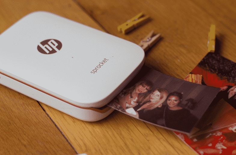 HP SPROCKET DETTACHEE DE PRESSE HP