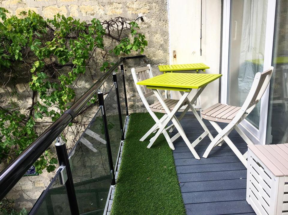 Aménager sa terrasse (ou balcon) en petit coin estival