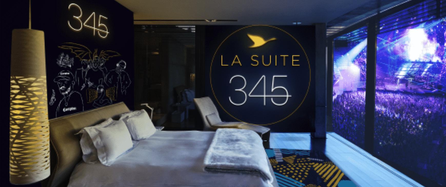 Une suite ph m re install e au coeur de l accorhotels arena for Hotels 02 arena