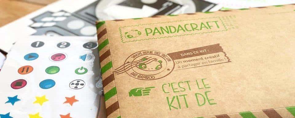 Pandacraft : un kit d'activités pour stimuler l'imagination des enfants, Genius!!