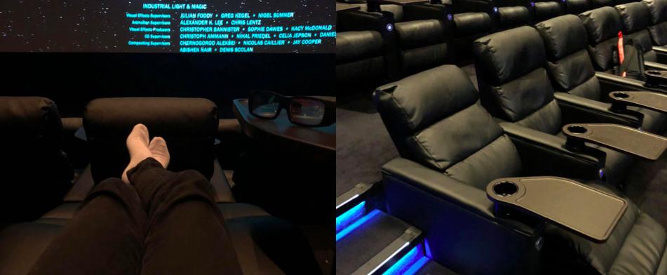 Dolby Cinema, le ciné façon « Business Class »: déclassé!