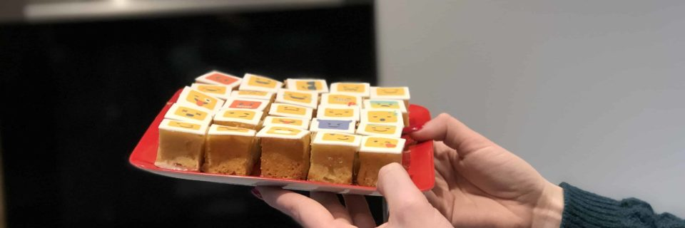 Gâteaux Cube dans Cuisine Design (ou comment faire des Rubik's Cake)